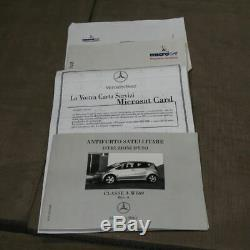 Système Antivol Satellitaire Mercedes Classe A W169 Cod. Q4545406 Neuf Original
